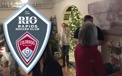 Rio Rapids SC Holiday Party 2014