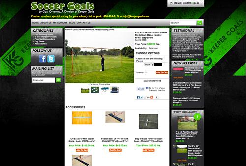 Gos 2012 keepergoals website