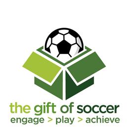 Gift of soccer logo