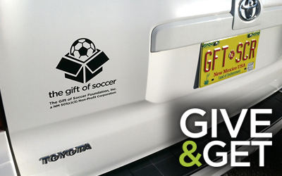 Gift of Soccer Car Donation – Albuquerque, NM USA