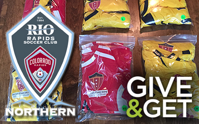 Rapids Northern Donate Gear
