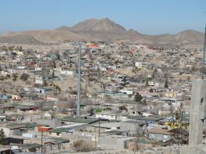 Juarez mx city slums