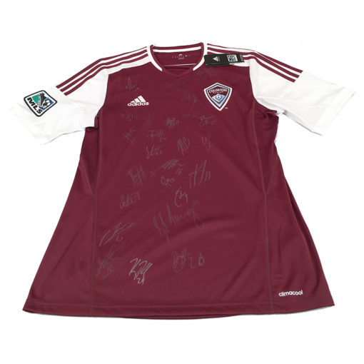 Gos co rapids 2014 signed jersery front
