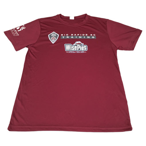 Gos donated gear rrsc maroon ts front