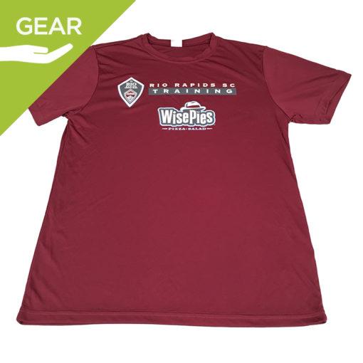 Gos fi donated gear rrsc maroon ts front