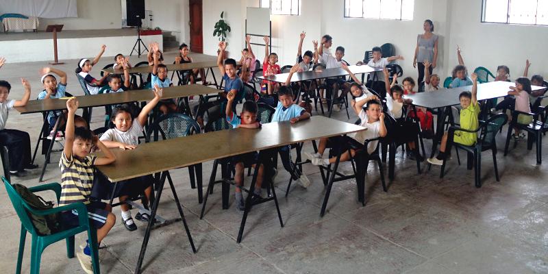 Hope christian kids in ecuador