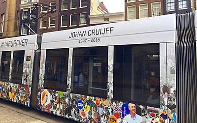 Johan Cruyff Honored